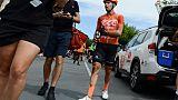 Tour Down Under: Bevin, blessé mais toujours leader, Ewan vainqueur disqualifié