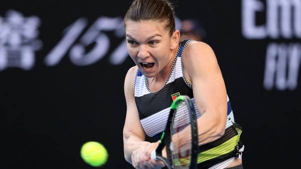 Top seed Halep marches on with clinical win over Venus
