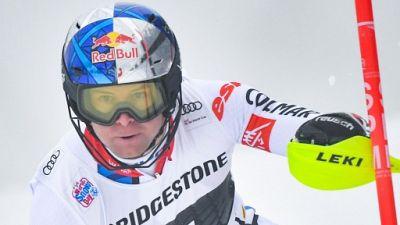 Alexis Pinturault lors de la descente de Wengen, le 18 janvier 2019