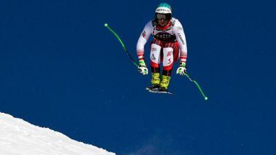 Ski: l'Autrichien Kiechmayr prive Feuz d'un nouveau succès à Wengen