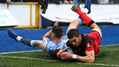Coupe d'Europe: battu à Cardiff, Lyon termine sans aucun point