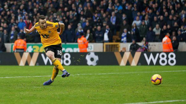 Jota grabs treble, Nuno sent off as Wolves win seven-goal thriller