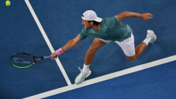 """Open d'Australie: """"Ces matches-là, je les perdais"""" confie Pouille"""