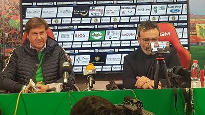 La Ternana esonera l'allenatore De Canio