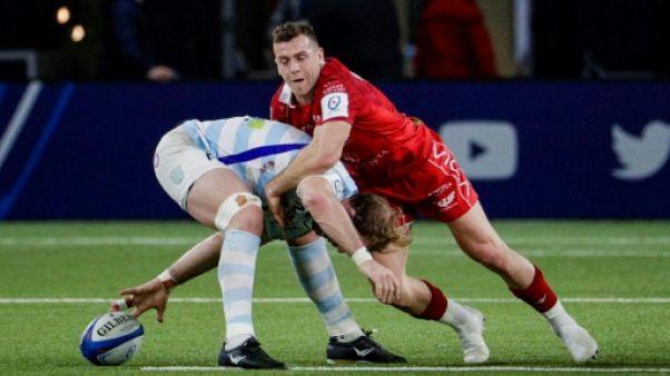 Coupe d'Europe: le Racing bat les Scarlets 46-33 et recevra en quarts