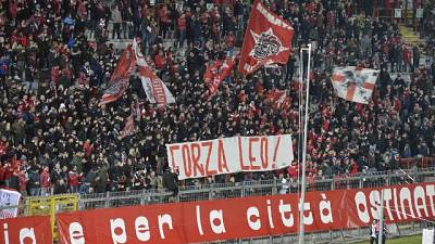 """Da Perugia e tifosi, """"Forza Leo"""""""