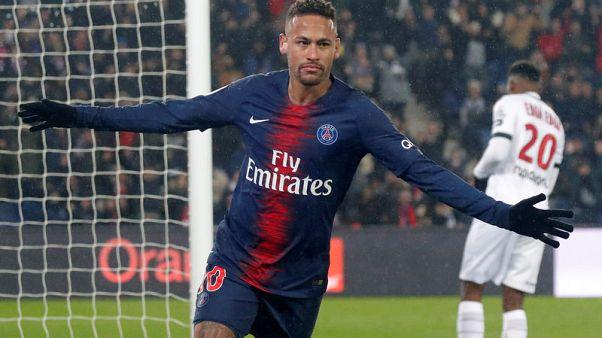 سان جيرمان يسحق جانجون بتسعة أهداف وموناكو يخسر بخماسية في دوري فرنسا