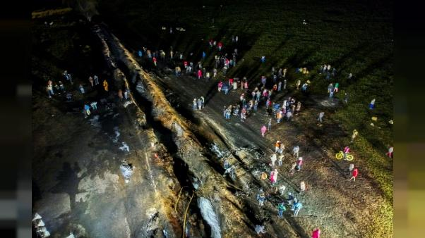 A Tlahuelilpan, le deuil et l'angoisse des familles après l'incendie d'un oléoduc