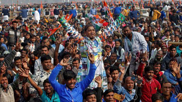 المعارضة الهندية تنظم مسيرة حاشدة ضد رئيس الوزراء