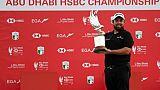 L'Irlandais Shane Lowry gagne l'Open d'Abou Dhabi le 19 janvier 2019