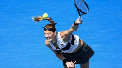 Open d'Australie: Kvitova met fin à l'aventure d'Anisimova