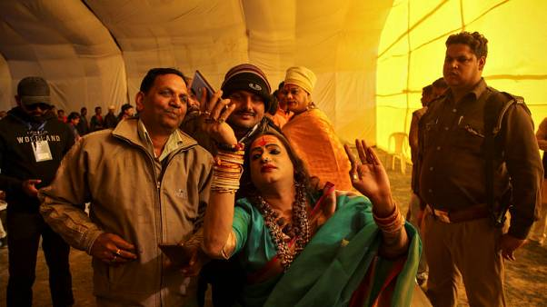 From pariah to demi-god - transgender leader a star at massive Indian festival