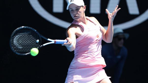 Australia's Barty living in the moment as nation's hopes surge