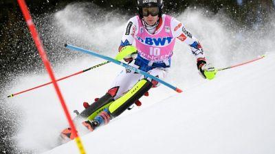 Ski: Noël en tête après la 1re manche du slalom de Wengen, Hirscher 5e