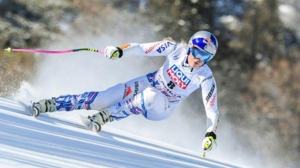 """Ski: Lindsey Vonn a """"peut-être"""" disputé dimanche la dernière course de sa carrière"""
