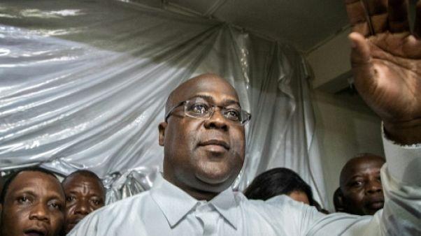 Félix Tshisekedi, le 10 janvier 2019 à Kinshasa
