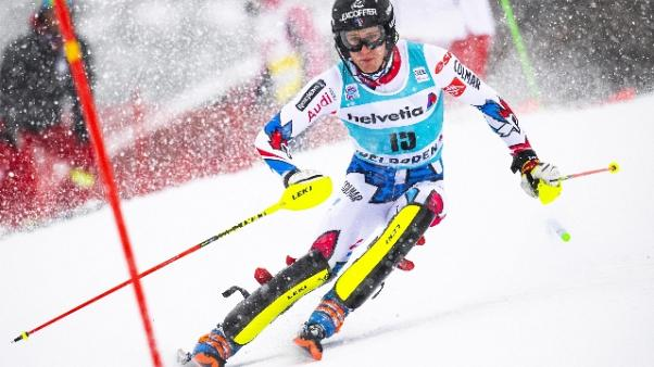 Sci: francese Noel vince slalom Wengen