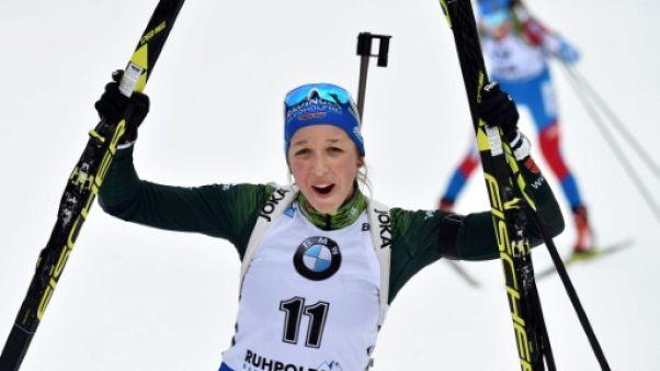 Biathlon: première victoire pour Preuss sur la mass start de Ruhpolding, les Bleues loin