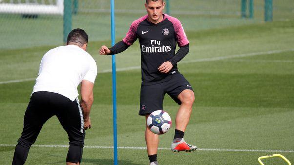 Verratti has a sprained ankle, PSG say