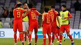 الصين تهزم تايلاند وتتأهل لدور الثمانية في كأس آسيا