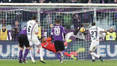 Serie A: Fiorentina-Samp pari spettacolo