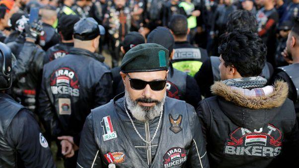 No politics please for Baghdad bikers aiming to unite Iraq