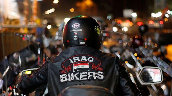 """""""عراق بايكرز"""" يرفعون شعار لا للسياسة بهدف توحيد البلاد"""