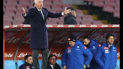 Ancelotti, Napoli sembrava al completo