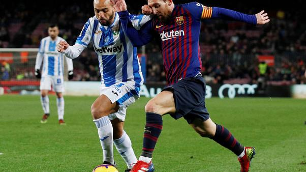 Messi comes off the bench to sink Leganes