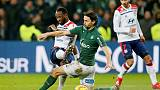 Last-gasp Dembele earns Lyon 2-1 win at St Etienne