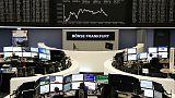 Stock markets falter after China data confirms economic slowdown