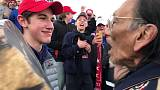 Student in Trump hat denies mocking Native American activist in videotaped encounter