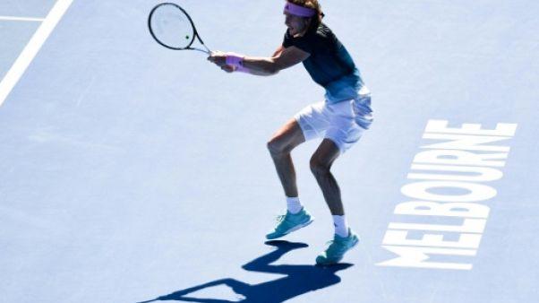 Open d'Australie: Zverev tombe en huitièmes de finale contre Raonic