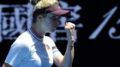 Open d'Australie: Svitolina en quarts comme en 2018