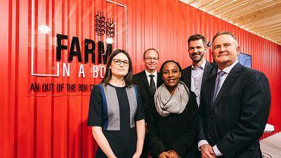 AGCO lance « Farm In A Box », une initiative innovante pour l'Afrique afin de faciliter la mécanisation agricole au sein des communautés rurales
