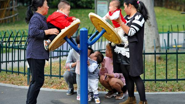 Modern China's birth rate falls to lowest ever