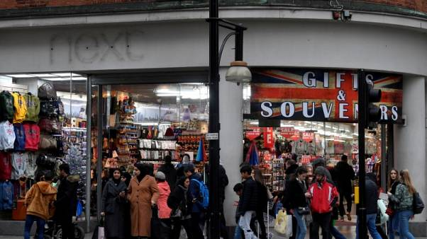 UK households gloomy for 2019, lower inflation eases near-term worries