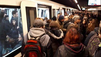 Metro A chiusa da Battistini a Termini
