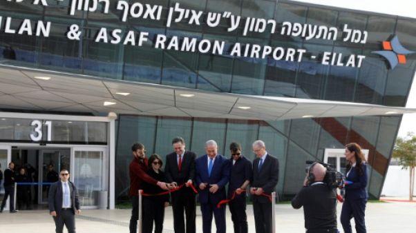 Israël inaugure un nouvel aéroport près de la mer Rouge
