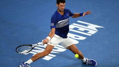 Open d'Australie: Djokovic a souffert pour rallier les quarts