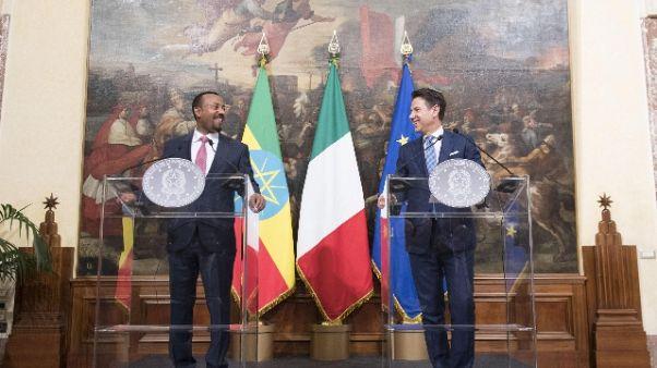 Conte,aiutare Africa interesse Italia-Ue