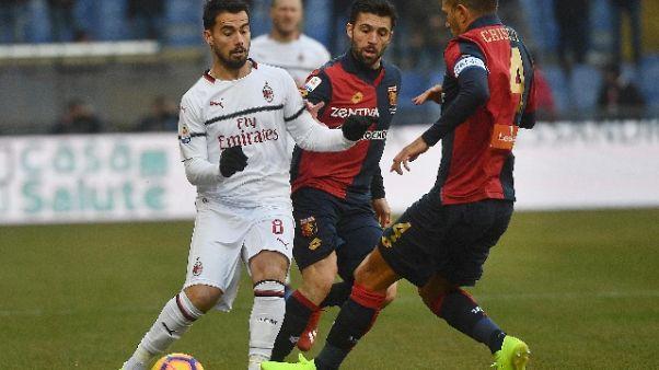 Serie A: Genoa-Milan 0-2