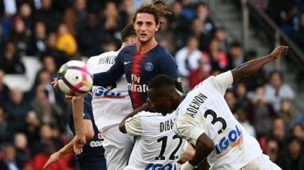 Paris-SG: Rabiot, écarté du groupe pro, a saisi la Ligue
