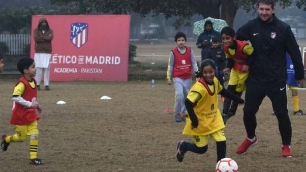 L'Atlético Madrid ouvre une académie de foot au Pakistan, terre de cricket