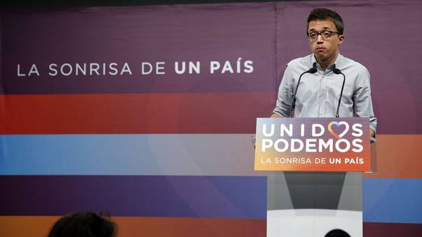 Leading Podemos MP quits, tipping Spain's far left party into chaos