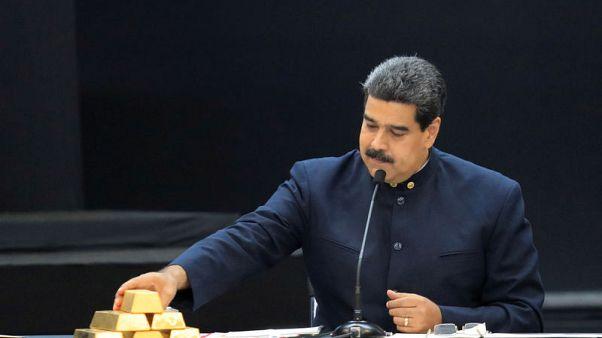 Venezuela gold holdings in Bank of England soar on Deutsche deal - sources