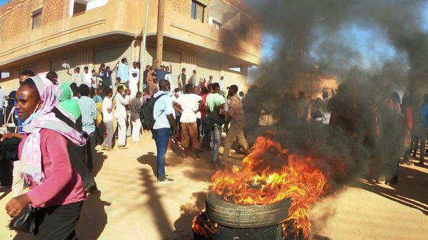 Hundreds protest demonstrator's death in Sudan - witnesses