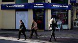 Dixons Carphone's Christmas sales rise 1 percent