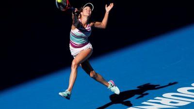 Open d'Australie: première demi-finale en Grand Chelem pour l'Américaine Danielle Collins