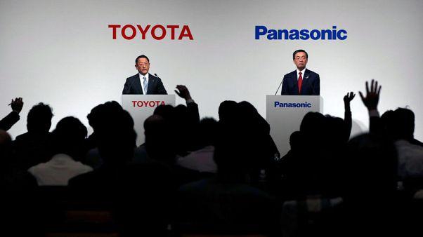 Toyota, Panasonic announce JV for EV batteries